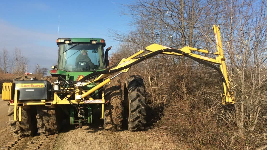 Limb Beaver | Skidsteer Trimmer Attachment